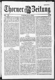 Thorner Zeitung 1899, Nr. 70 Zweites Blatt