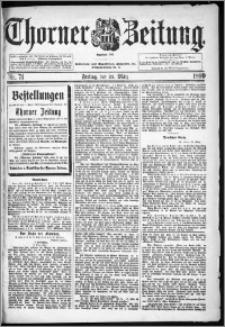 Thorner Zeitung 1899, Nr. 71
