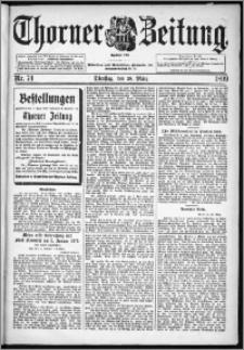 Thorner Zeitung 1899, Nr. 74