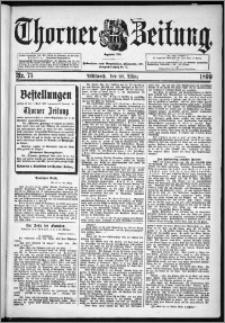 Thorner Zeitung 1899, Nr. 75