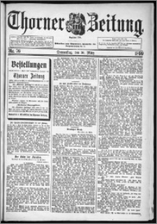 Thorner Zeitung 1899, Nr. 76