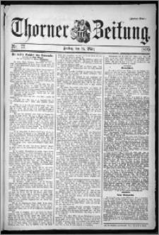 Thorner Zeitung 1899, Nr. 77 Zweites Blatt