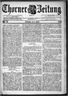 Thorner Zeitung 1899, Nr. 79