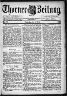 Thorner Zeitung 1899, Nr. 80