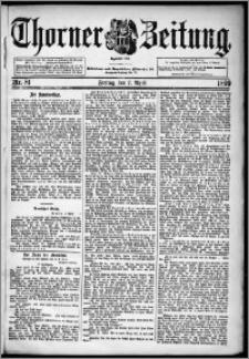 Thorner Zeitung 1899, Nr. 81