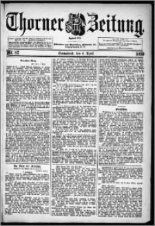 Thorner Zeitung 1899, Nr. 82