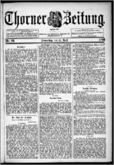 Thorner Zeitung 1899, Nr. 86