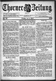 Thorner Zeitung 1899, Nr. 90