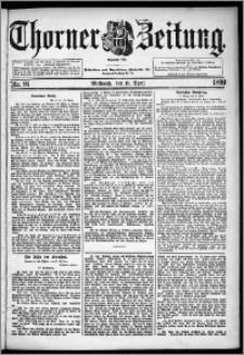 Thorner Zeitung 1899, Nr. 91