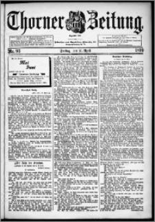 Thorner Zeitung 1899, Nr. 93