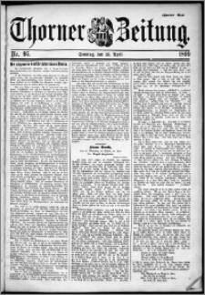 Thorner Zeitung 1899, Nr. 95 Zweites Blatt