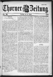 Thorner Zeitung 1899, Nr. 96 Zweites Blatt