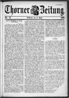 Thorner Zeitung 1899, Nr. 97 Zweites Blatt