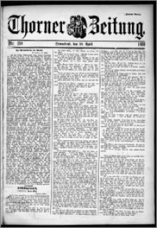Thorner Zeitung 1899, Nr. 100 Zweites Blatt