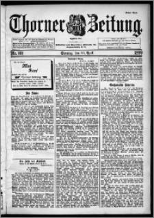 Thorner Zeitung 1899, Nr. 101 Erstes Blatt