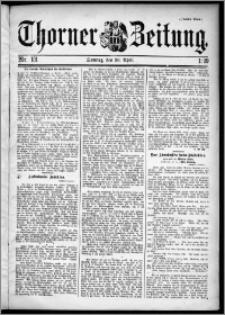 Thorner Zeitung 1899, Nr. 101 Zweites Blatt