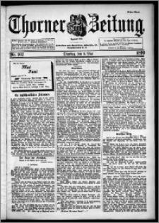Thorner Zeitung 1899, Nr. 102 Erstes Blatt
