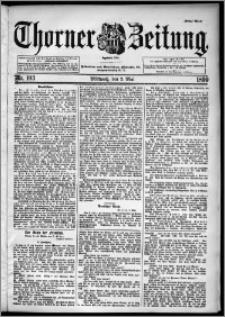 Thorner Zeitung 1899, Nr. 103 Erstes Blatt