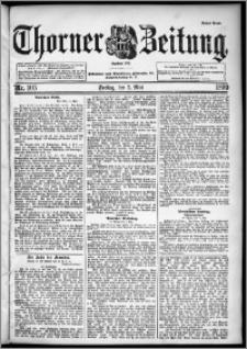 Thorner Zeitung 1899, Nr. 105 Erstes Blatt