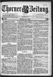 Thorner Zeitung 1899, Nr. 107 Erstes Blatt