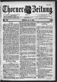 Thorner Zeitung 1899, Nr. 109 Erstes Blatt