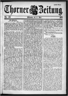 Thorner Zeitung 1899, Nr. 109 Zweites Blatt