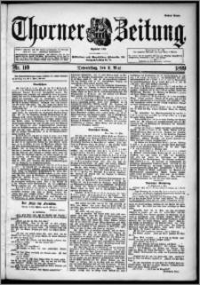 Thorner Zeitung 1899, Nr. 110 Erstes Blatt