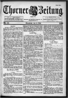 Thorner Zeitung 1899, Nr. 111 Erstes Blatt