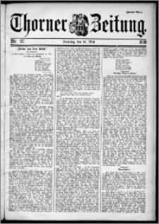 Thorner Zeitung 1899, Nr. 112 Zweites Blatt