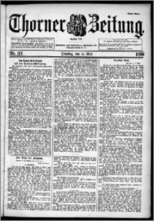 Thorner Zeitung 1899, Nr. 113 Erstes Blatt