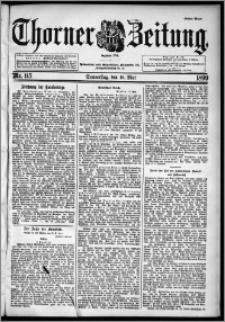 Thorner Zeitung 1899, Nr. 115 Erstes Blatt