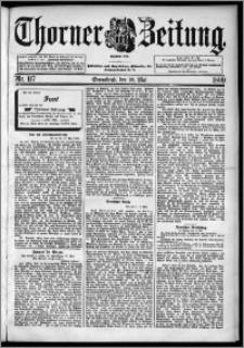 Thorner Zeitung 1899, Nr. 117