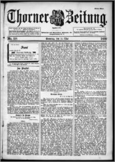 Thorner Zeitung 1899, Nr. 118 Erstes Blatt