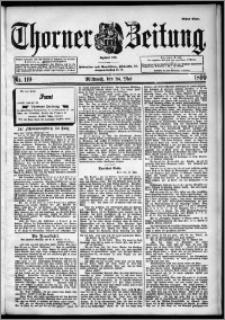 Thorner Zeitung 1899, Nr. 119 Erstes Blatt