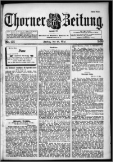 Thorner Zeitung 1899, Nr. 121 Erstes Blatt