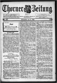 Thorner Zeitung 1899, Nr. 122