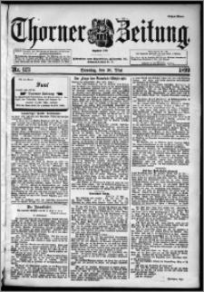 Thorner Zeitung 1899, Nr. 123 Erstes Blatt