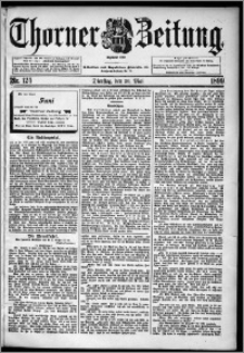Thorner Zeitung 1899, Nr. 124