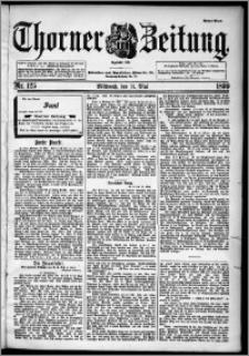 Thorner Zeitung 1899, Nr. 125 Erstes Blatt