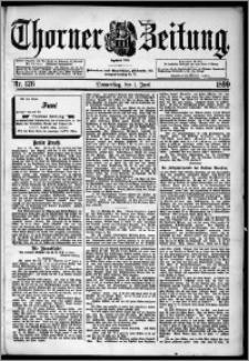 Thorner Zeitung 1899, Nr. 126