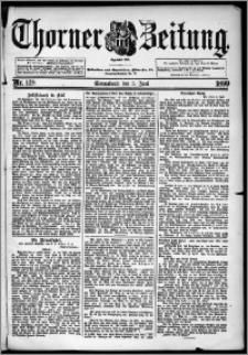 Thorner Zeitung 1899, Nr. 128