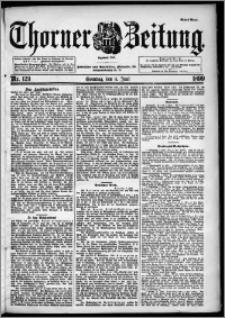 Thorner Zeitung 1899, Nr. 129 Erstes Blatt