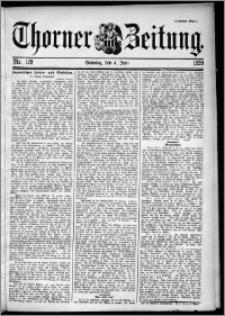 Thorner Zeitung 1899, Nr. 129 Zweites Blatt