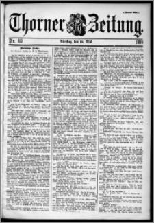 Thorner Zeitung 1899, Nr. 113 Zweites Blatt