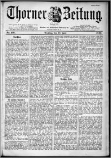 Thorner Zeitung 1899, Nr. 136 Erstes Blatt