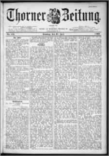 Thorner Zeitung 1899, Nr. 141 Erstes Blatt