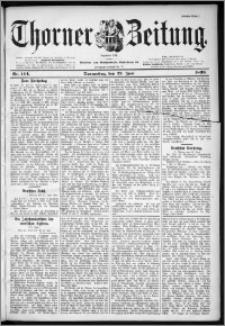 Thorner Zeitung 1899, Nr. 144 Erstes Blatt