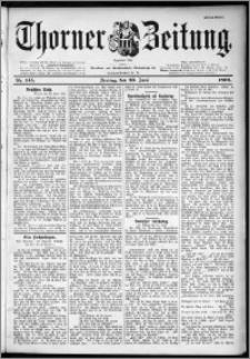 Thorner Zeitung 1899, Nr. 145 Erstes Blatt