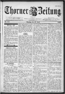 Thorner Zeitung 1899, Nr. 148 Erstes Blatt