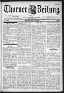 Thorner Zeitung 1899, Nr. 149 Erstes Blatt